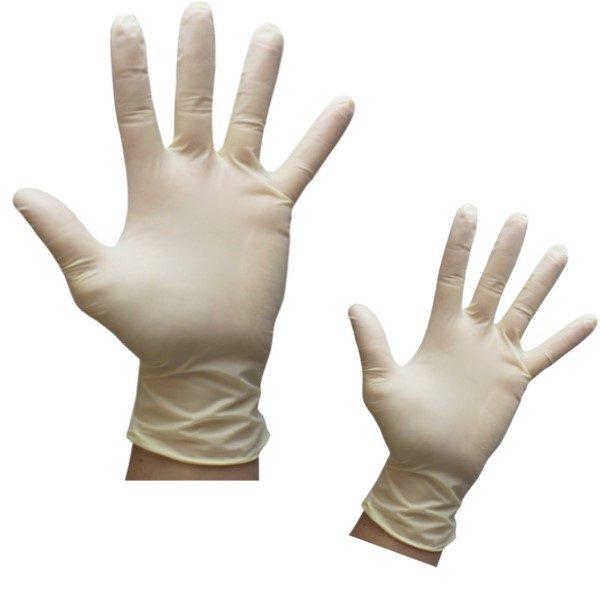latex glove powder free