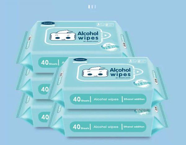 pharmpak alcohol wipe